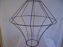 Lamp shade wire frames rings lamp wire frames keyboard keysfo Image collections